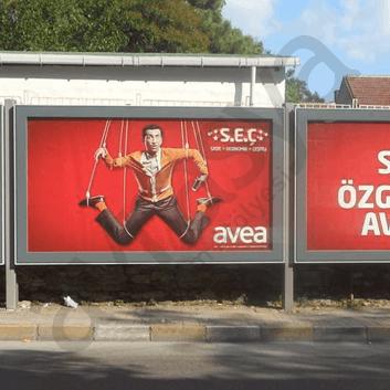 Billboard - açık hava reklamcılığı için en iyi seçeneklerden biridir